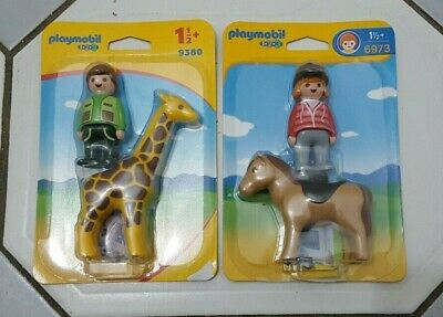 Playmobil  Equestrian With Horse &