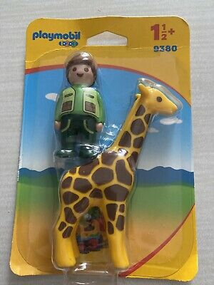 Playmobil  Zookeeper with Giraffe Kids Educational