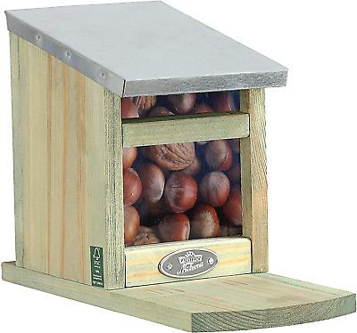 Dehner Natura Squirrel Feeder House Approx. 22.5 x 12 x 17.5