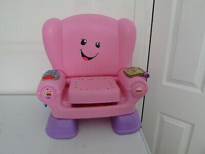 Fisher-Price Laugh and Learn Smart Stages Chair - pink