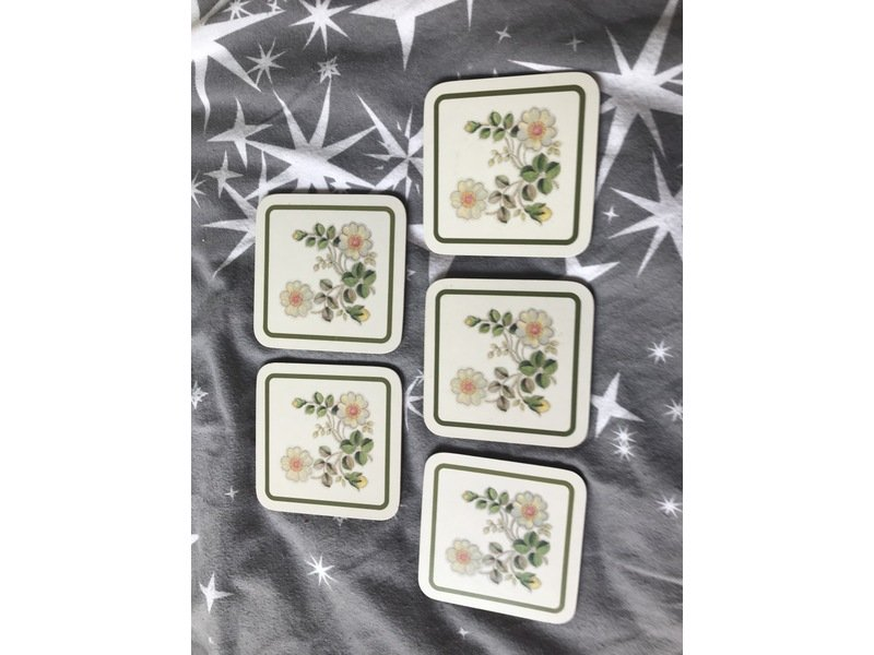 Marks and spencers Autumn leaves coasters x5