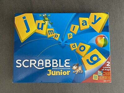 Mattel Games Scrabble Junior Board Game (Y) Used But In