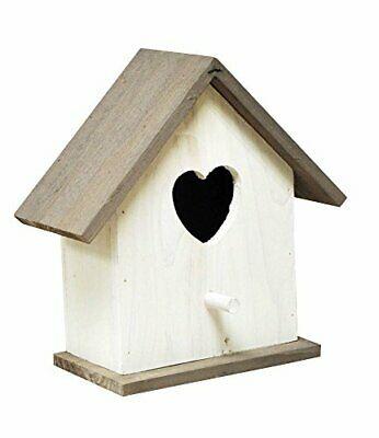 NEW - Kingfisher White Wooden Nesting Box