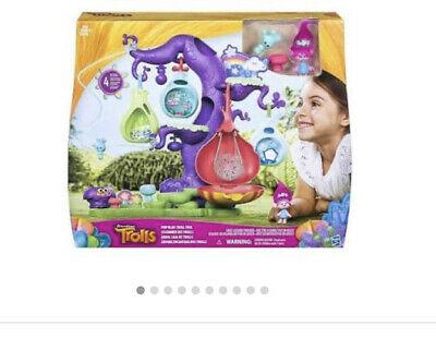 New DreamWorks Trolls POD'ular Troll Tree Kids Fun PlaySet