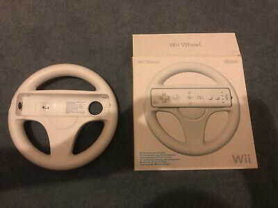Official Nintendo Wii Racing/Steerin g Wheel (Wii) BOXED