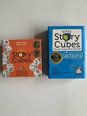 Rory's Story Cubes Bundle Including Actions - Gamewright