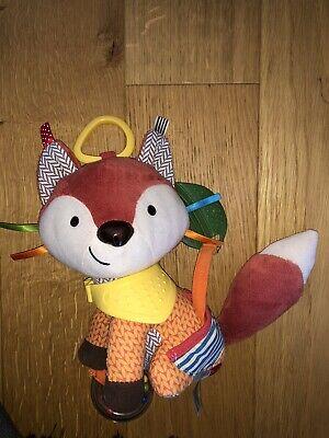 Skip Hop Bandana Buddies Fox Activity Toy With Teether