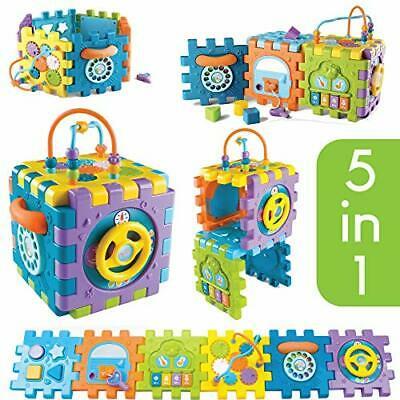 Tippi 6 in 1 Baby & Toddler Activity Cube - Musical Activity