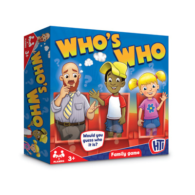 whos who? Guess Who Board Game Traditional Classic Kids