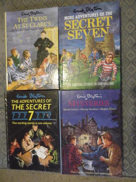 4 Enid Blyton hardback collections - Mysteries, The Secret 7