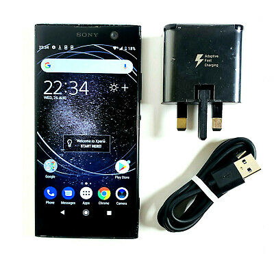 Sony Xperia XA2 32GB Black Unlocked SIM FREE GOOD CONDITION