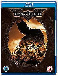 Batman Begins BLU-RAY ltd edition box set