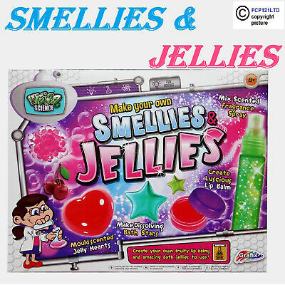 Childrens Make Your Own Bath Bomb Smellies & Jellies Lip