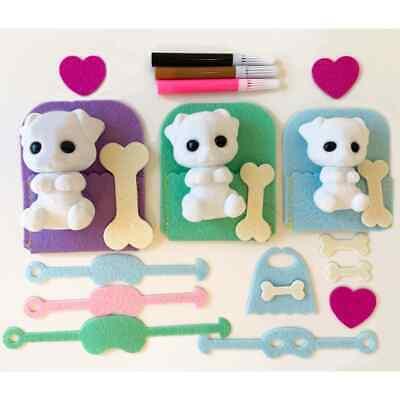 Fuzzikins Craft & Play Kit Dogs Create Your Own Fun Kids