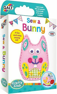 Galt Toys Sew A Bunny Sewing Kit, Craft Kits for Children
