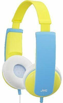 JVC TINY PHONE KIDS STEREO HEADPHONE YELLOW Volume Limiter