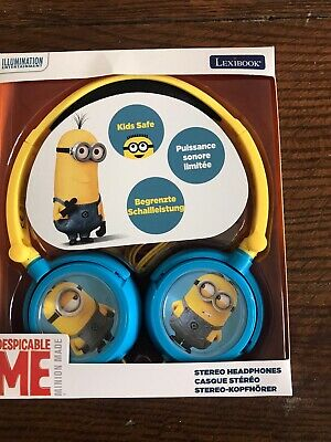 Lexibook Despicable Me Minions Stereo Headphones Kids Safe