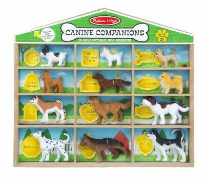 Melissa & Doug Canine Companions - 12 Dog Play Set NEW