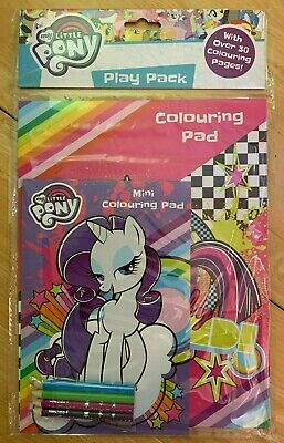 My Little Pony Play Pack Colouring Activity Set Over 30