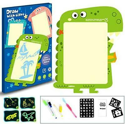 Queta Light Drawing Board for Kids,Doodle Board Toy,LED
