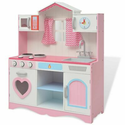vidaXL Toy Kitchen Children Kids Pretend Play Cooking Set