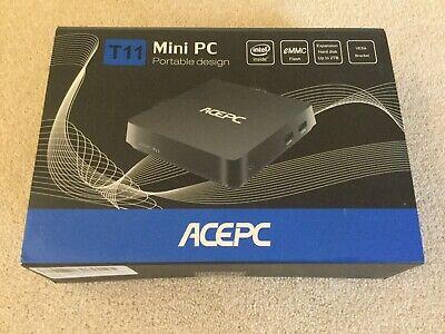 ACEPC T11 Windows 10 Mini PC, 4GB Ram 64GB eMMC Intel Atom