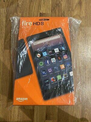 Amazon Kindle Fire HD 8 With Alexa 16GB, Wi-Fi, 8in - Black