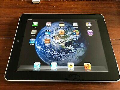 Apple iPad 1st Gen. 64GB, Wi-Fi + Cellular (Unlocked), 9.7in