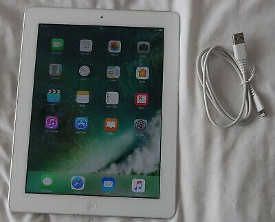 Apple iPad 4th Gen. 16GB, Wi-Fi, 9.7in White, Very good