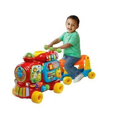 Baby Push and Ride Alphabet Train - 4-in-1 grow with me