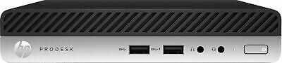 HP ProDesk 400 G5 Mini PC Intel Core iT 8GB RAM, 512GB