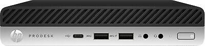 HP ProDesk 600 G5 Mini PC Intel Core iT 8GB RAM, 500GB