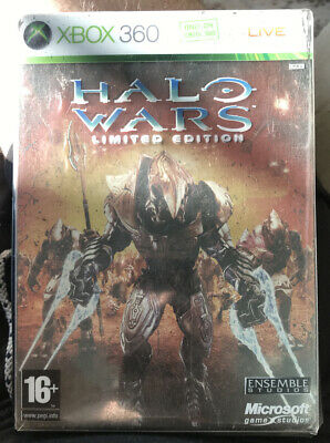 Halo Wars - Limited Edition Steelbook(Xbox 360)