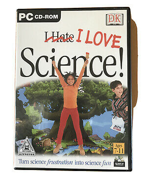 I Love Science (Ages 7 -11) PC CD ROM