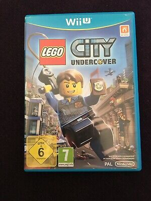 Lego City Undercover Nintendo Wii U UK PAL Game