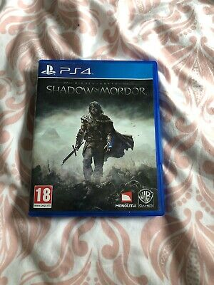 Middle-Earth: Shadow of Mordor (Sony PlayStation )