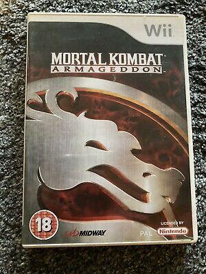Mortal Kombat Armageddon - Nintendo Wii - Complete With Box
