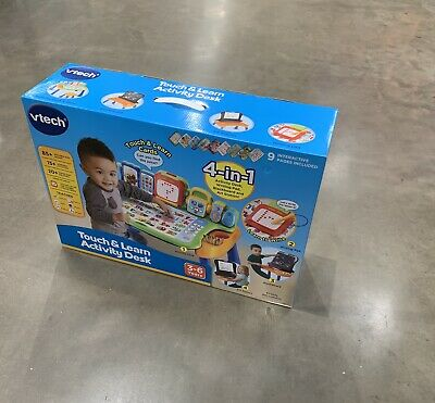 Vtech Touch and Learn Activity Desk - Touch, Draw, Learn and