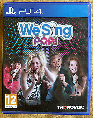 We Sing Pop - PS4 Playstation 4 Game