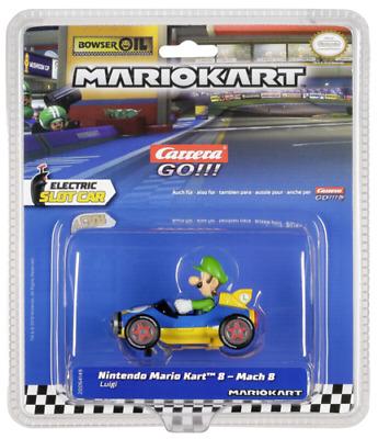 Carrera GO!!! Luigi  Nintendo Mario Kart - Mach 8