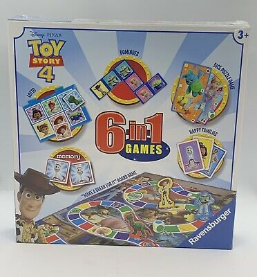 Disney Pixar Toy Story 4 - 6-in-1 Games Set - Ravensburger -