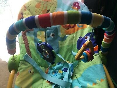 Fisher Rainforest Friends Comfort Bouncer