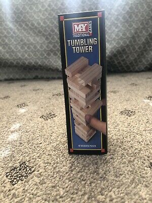 M.Y Tumbling Tower 48pc MINI Wooden Stacking Block Tower