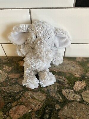 Marks and & Spencer Small Grey Elephant Plush Rattle Soft