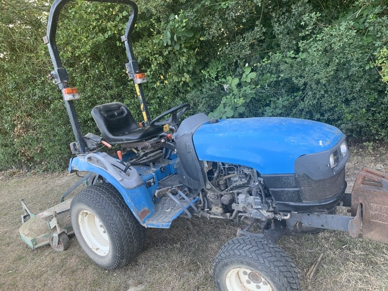 New Holland Tc up compact tractor
