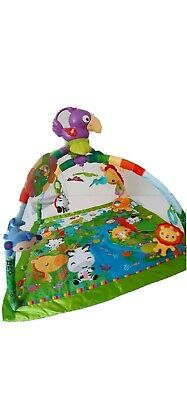 Fisher-Price Rainforest Toucan Music and Lights Deluxe Gym