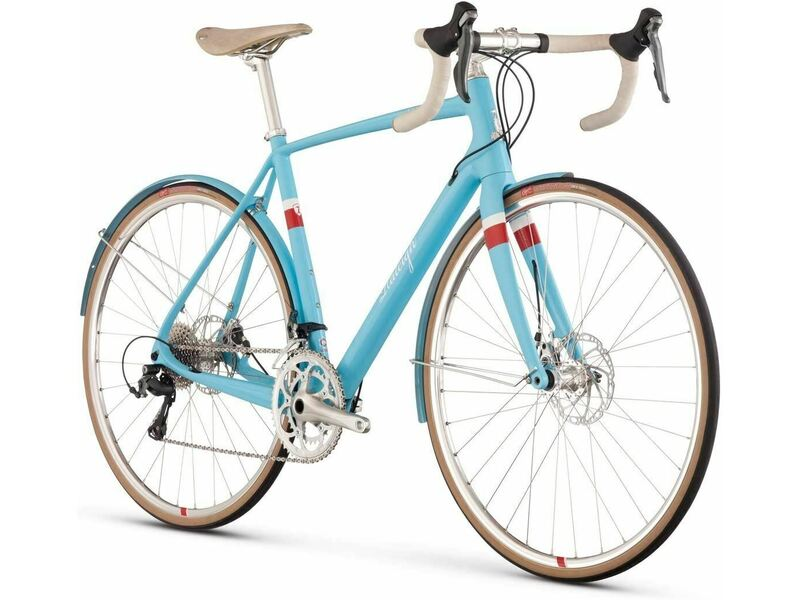 Mens Road Bike, Raleigh Clubman Carbon, 58cm Frame