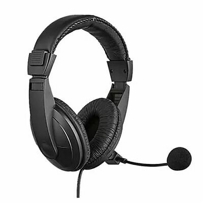 NEW! Sandberg Usb Headset With Boom Mic 40Mm Drivers In-Line