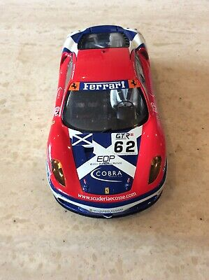 SCALEXTRIC FERRARI F430 GT CAR WITH FRONT AND REAR LIGHTS