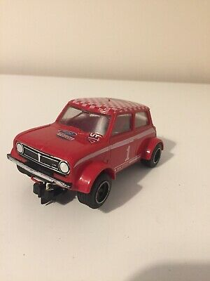 SCALEXTRIC Vintage Mini Clubman  GT C122 RED #1 Type 2